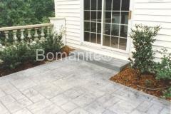 Bomanite Ashlar Slate Imprinted Concrete