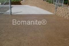 Bomanite Creekstone Imprinted Concrete