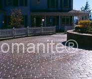 Bomanite Running Bond Belgium Imprinted Concrete