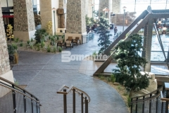 Our colleague, Colorado Hardscapes, earned the Bomanite Imprint Systems Silver Award in 2018 for their precise installation of Bomanite stamped concrete at the Gaylord Rockies Resort & Convention Center, and featured here is the Bomacron Small Random Slate imprint pattern that was installed with meticulous care to ensure the result was accurately repetitive.