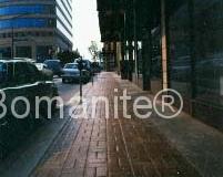Bomanite Basketweave Brick Imprinted Concrete