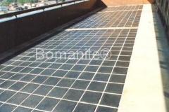 Bomanite 12 x 12 Dark Cobble Imprinted Concrete