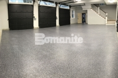 Our colleague, Premier Concrete Construction, used the Bomanite Broadcast Flake Toppings System to create an architectural finish while providing a protective flooring surface that will stand up to long term wear and tear in this garage.